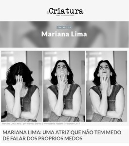 Mariana Lima_A Criatura