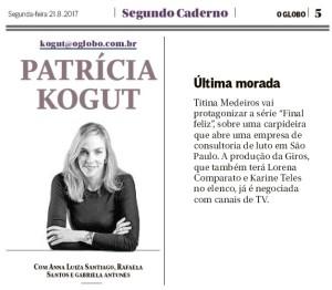 Karine Teles_Jornal O Globo_210817