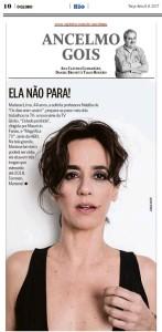 Mariana Lima_Jornal O Globo_080817