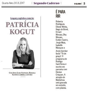 Roberta Rodrigues_Jornal O Globo_230817